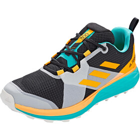 adidas TERREX Two Trail Running Shoes Men, hi res aqua/core black/gold